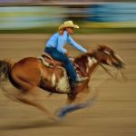 Ride 'Em Cowgirl by Butch Mazzuca, f11 Digital, Score: 10