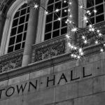 The Stars of City Hall by Gary Witt, 1st f8 Monochrome