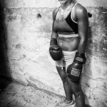 Boxing Champ by Ron Cooper, f11 Monochrome, Score: 9