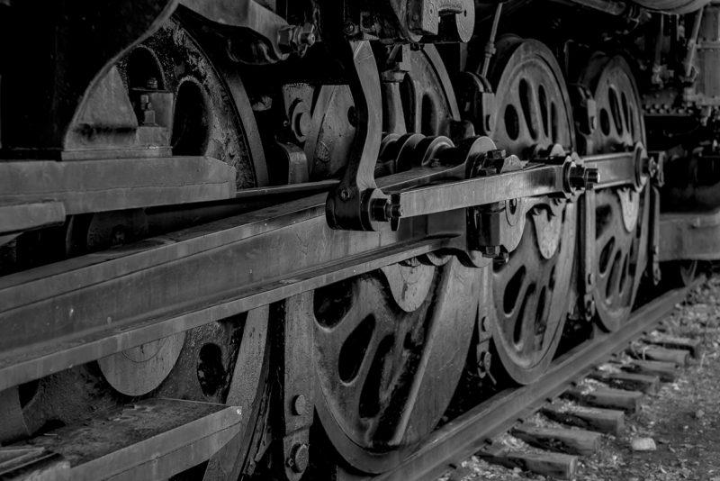 Train Wheels by Lucius Ashby, f8 Digital, Score: 9