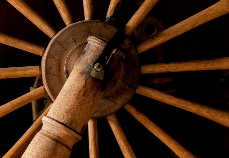 Simple Machine-Spinning Wheel by Nancy Myer, f16 Digital, Score: 10