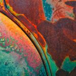 Rust and Old Paint in Hyper Color by Dan Greenberg, 1st f16 Digital