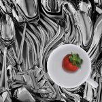 Twirled Flatware & Strawberry by Joe Bonita, f16 Color, Score: 10