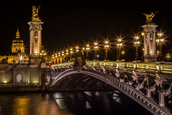 Pont Alexandre III by Brian Donovan, f11 Digital, Score: 10
