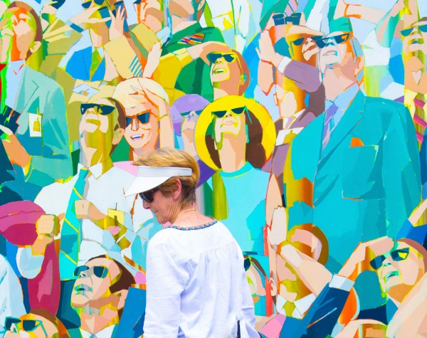 Crowd with Sun Glasses by Ernie Kuemmerer, f5.6 Digital, Score: 9