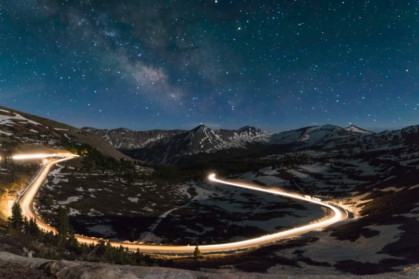 Driving Under the Milky Way by Nick Hemmenway, f8 Digital, Score: 10y