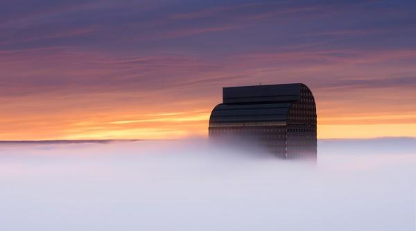 Mile High Mist by Scott Wilson, f16 Digital, Score: 10