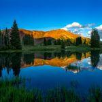 Evening Light on Mount Baldy by Clint Dunham, f8 Digital, Score: 9