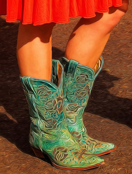 These Boots Were Made For Walkin' by Todd Lytle, f16 Digital, Score: 10