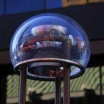 Blue Bubble Town by Gwen Piña, f11 Digital, Score: 10