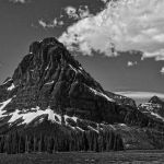 Glacier NP Mountain View by Barbara Kennedy, F11 Digital, Score-9