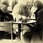 Chess in Luxembourg Park by Diane Katzenberger, F8 Digital, Score-10