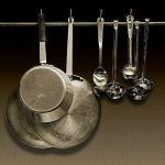Pot, Pans & Ladles by Joe Bonita, F16 Monochrome, Score-9