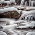Winter Cascade by Gary Witt, f11 Color, Score: 9
