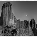 Fisher Towers in Moonlight by Theresa Corrada, f11 Digital, Score: 9