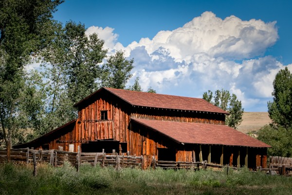 The Barn Out Back by Gary Witt, f16 Color, Score: 10