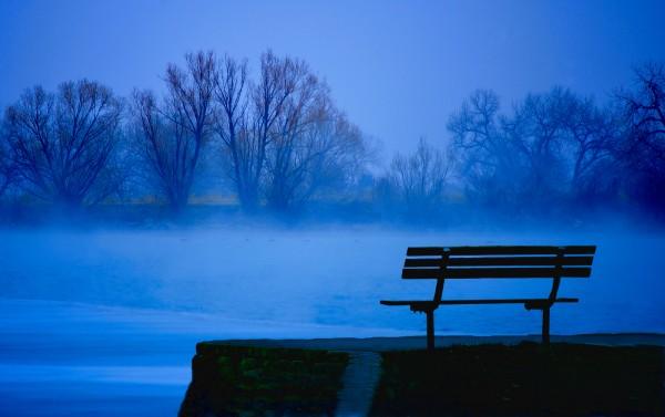 Fog on the Lake by Kevin O'Kane, f5.6 Digital, Score: 9