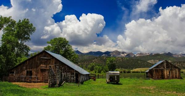 Ranching in Weston, Colorado by Larry Hartlaub , f8 Digital, Score: 9