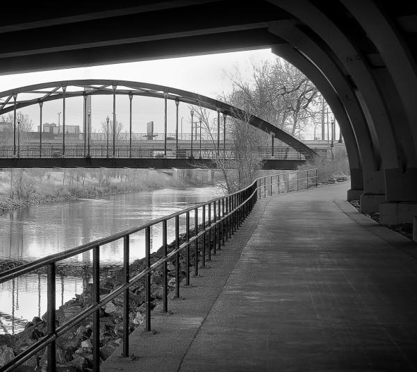 A Gray Day Under Bronco Bridge by Dave Hull, f5.6 Digital, Score: 9