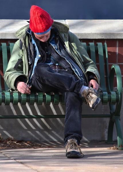 A Bench is My Bed by David Irwin, f11 Digital, Score: 9