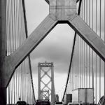 Suspension Bridge by Oz Pfenninger, f16 Monochrome, Score: 10
