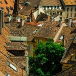 Rooftops Neuchatel by Bill Rothenmeyer, 3rd f11 Digital