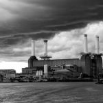 Battersea Power by Jason Wilson, f8 Monochrome, Score: 9