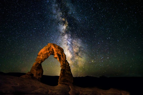 Delicate Arch at 3:00 AM by Butch Mazzuca, f11 Digital, Score: 9