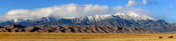 Winter Approaching the Dunes by Dave Hull, f5.6 Digital, Score: 10