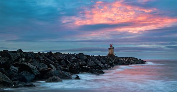 Sunset at Bandon by Danny Lam, f16 Digital, Score: 10