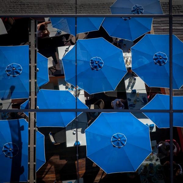 Barcelona Blue by Gary Witt, f16 Digital, Score: 9