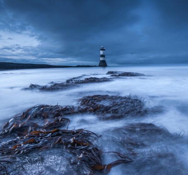 Penmon Lighthouse by Scott Wilson, f16 Digital, Score: 10