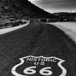 Route 66 at Dusk by Dan Greenberg, f16 Digital, Score: 9