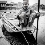 The Boatman by Ron Cooper, f16 Monochrome, Score: 10