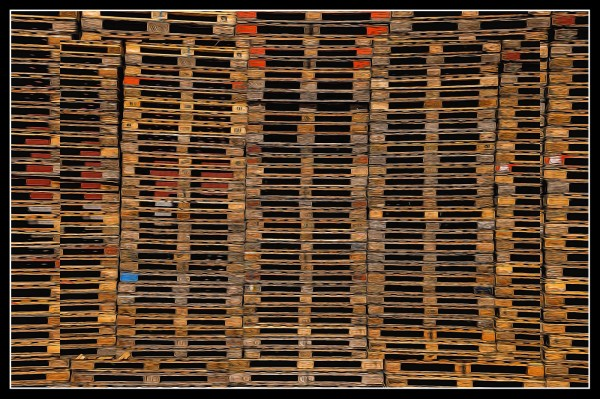 Pile O' Pallets by Todd Lytle, f16 Digital, Score: 9