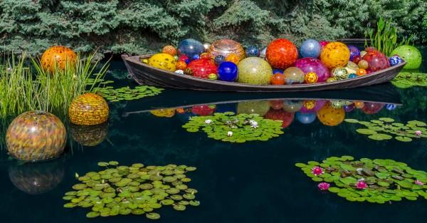 Glass Ball Boat by Wayne Corrigan, f11 Digital, Score: 9