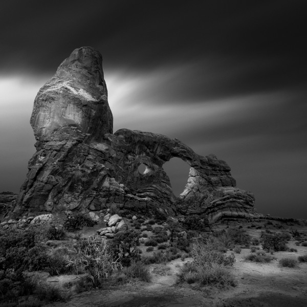 Turret by Kevin Holliday, f16 Monochrome, Score: 10