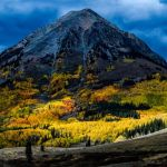 Crested Butte from Bush Creek by Leander Urmy, f16 Digital, Score: 10