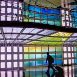 Concourse at Ohare by Gwen Paton, f8 Digital, Score: 10