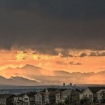 Rain over the Rockies by Rich Hayes, 2nd f8 Digital