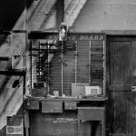 Clocked Out by Jeff Jensen, f8 Monochrome, Score: 10
