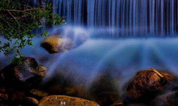 News Flash! Waterfalls Levitate Rock! by Larry Hartlaub, f8 Digital, Score: 9