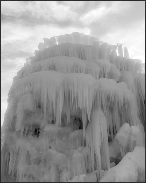 Frozen Castle by Nancy Myer, f16 Digital, Score: 9