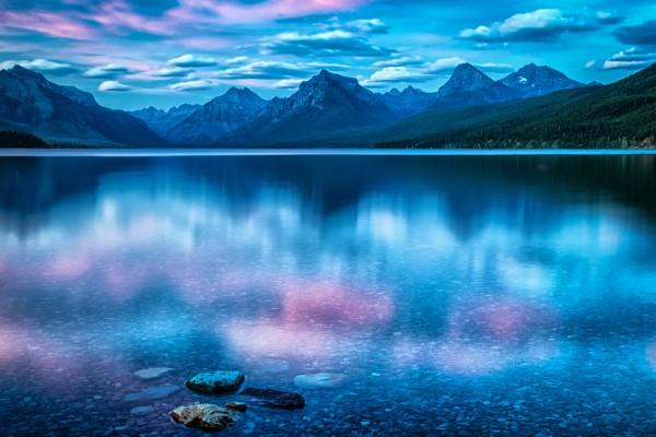 Pastel Waters by Butch Mazzuca, f16 Digital, Score: 9