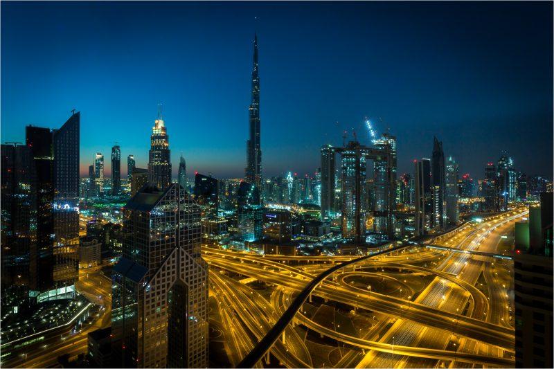 Burj Khalifa's Web by Brian Donovan, f16 Digital, Score: 10
