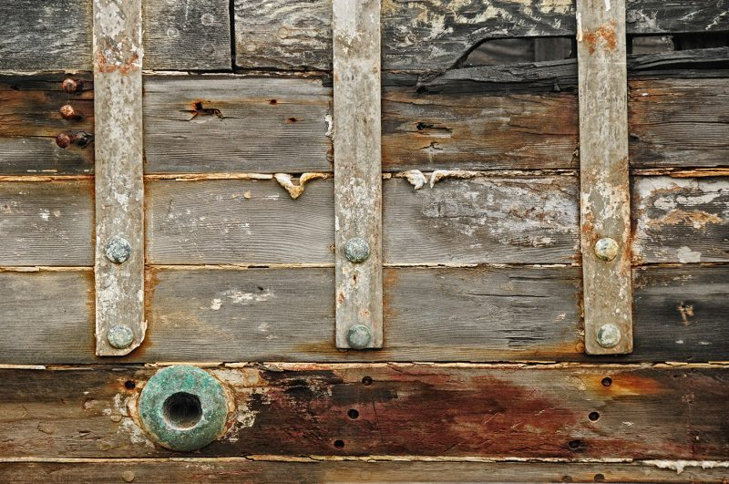 Abandoned Boat Detail by Mary Paetow, f16 Digital, Score: 9