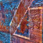 Rust on Blue by Dan Greenberg, f16 Digital, Score: 10