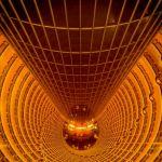 Looking Down Inside Jin Mao Tower by Theresa Corrada, f8 Digital, Score: 10
