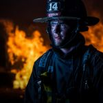 Firefighter by Butch Mazzuca , f11 Digital, Score: 9