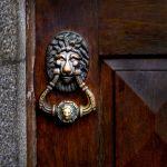 Lion Door Knocker by Dave Hull, f8 Digital, Score: 9
